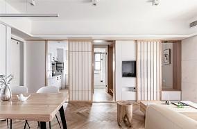 这样的家住起来太舒服了 108㎡日式功能区日式设计图片赏析