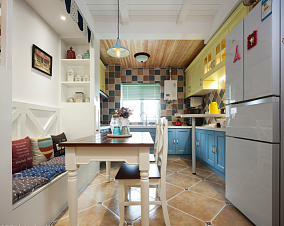 久违的阳光厨房2图地中海设计图片赏析