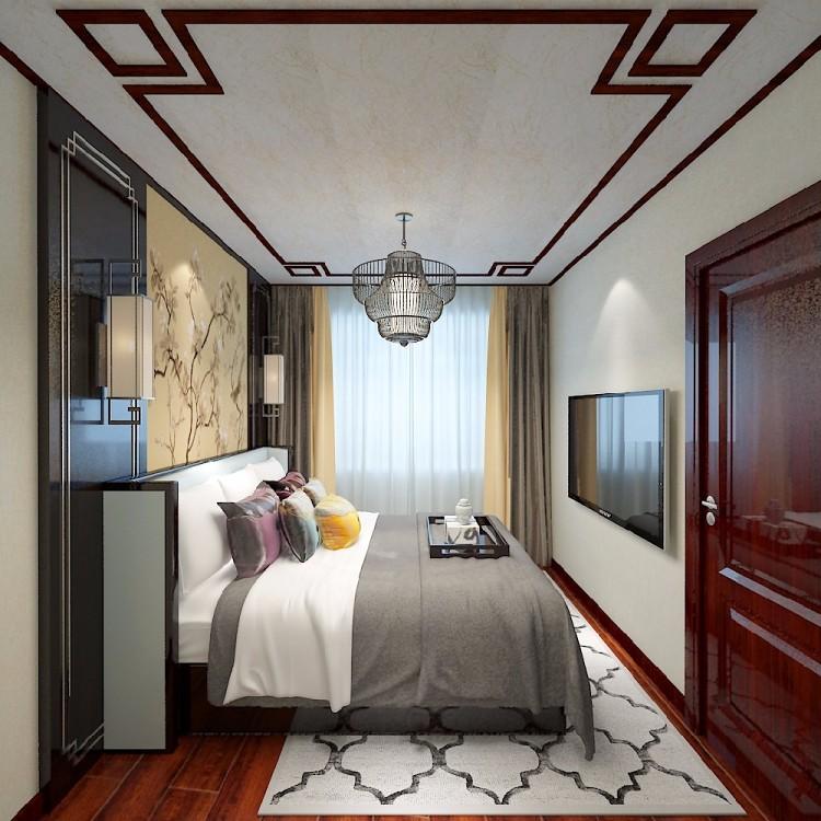 中式平棚客厅