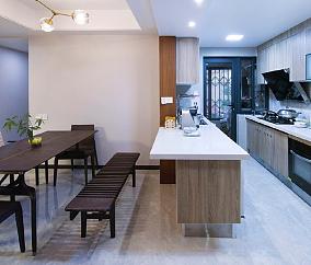 低调中韵厨房中式现代设计图片赏析