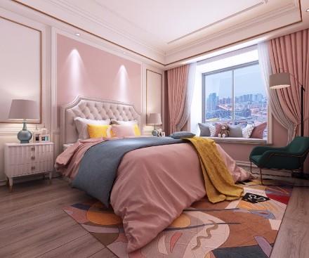 196㎡三居室混搭竟然可以美!卧室