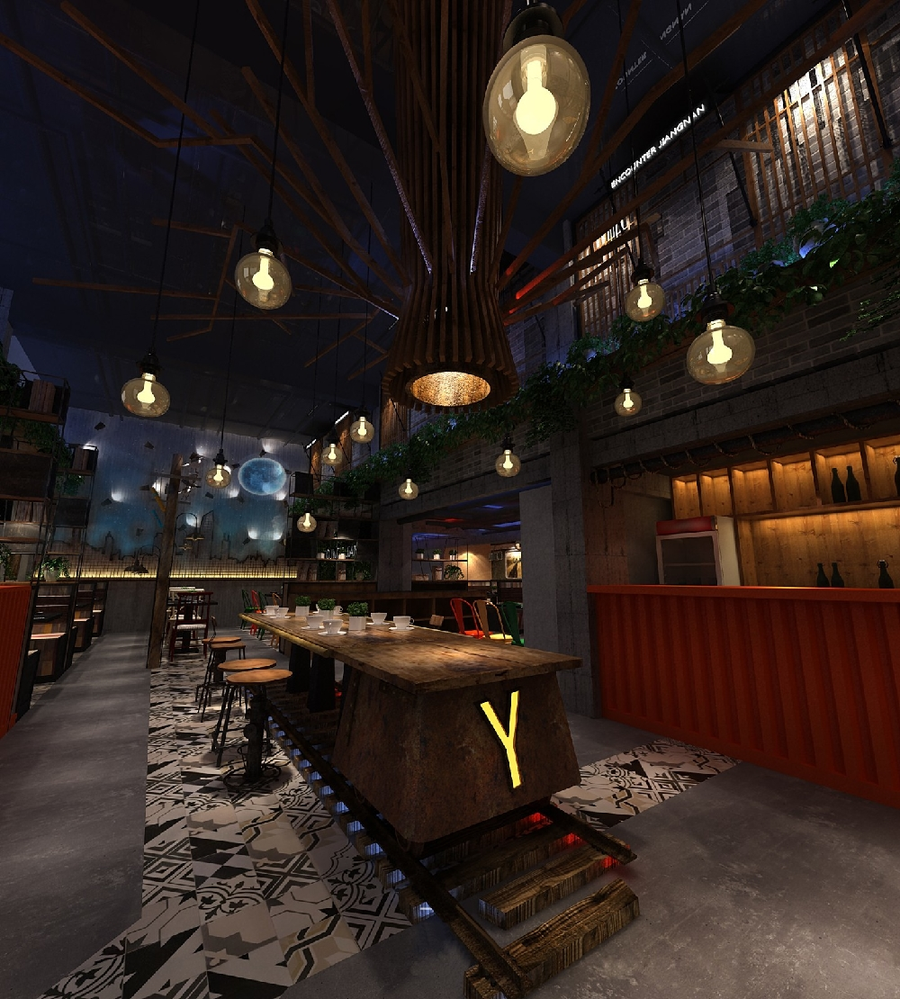 性主题餐厅装修效果图 特色主题餐厅设计方案
