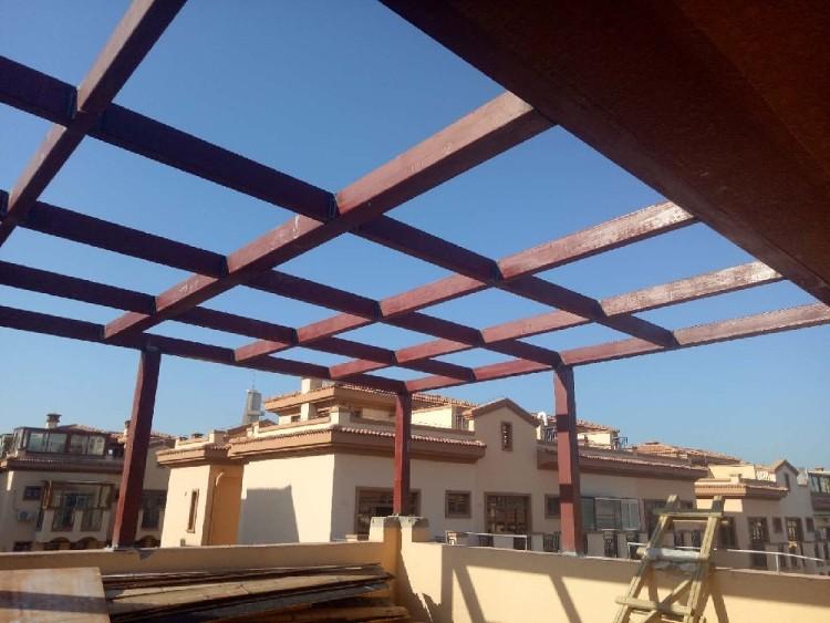 钢结构、混凝土钢架制作完成