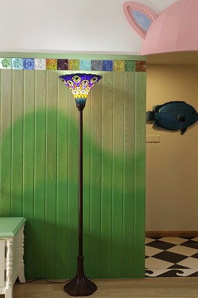 童话乐园客厅1图美式田园设计图片赏析