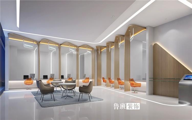 東莞市人才服務中心裝修設計案例