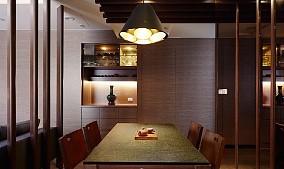 117㎡三居室·量体裁衣的日式理想家厨房日式设计图片赏析