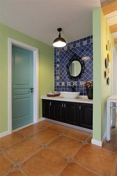 洗手台墙面翻新
