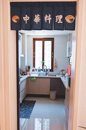 【维享家装饰】125平日式风格案例餐厅日式设计图片赏析