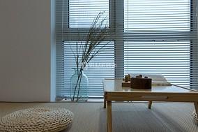 首钢美利山三室|现代日式风格装修阳台日式设计图片赏析