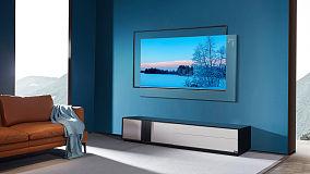 新造型美学 不需为背景墙发愁 浮窗全场景TV