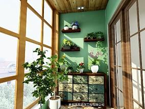 美式家居阳台美式经典设计图片赏析