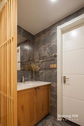 109㎡三居室·慵懒的生活颇具情调!卫生间日式设计图片赏析