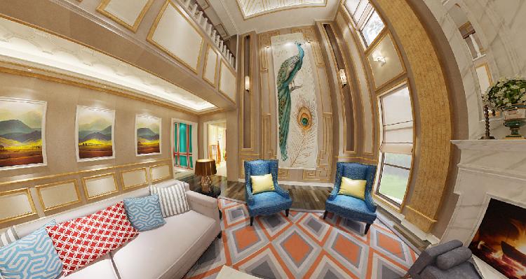 歐式別墅客廳