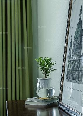 溪悦宸府简美风格全包HOME整装案例卧室美式经典设计图片赏析