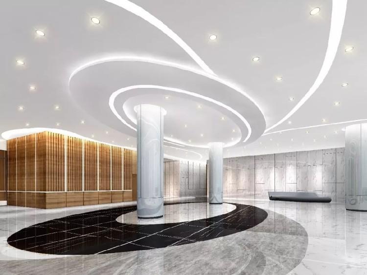 办公楼大厅设计装修