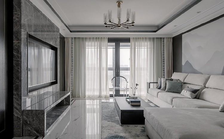混搭新中式風公寓設計