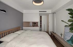 102平米简约日式卧室日式设计图片赏析