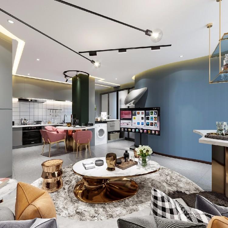 現代單身公寓