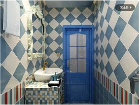 地中海两居卫生间地中海设计图片赏析