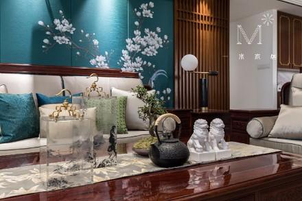 香蘭雅室140m²新中式客厅