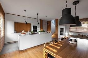 后现代风格110平复室餐厅现代简约设计图片赏析