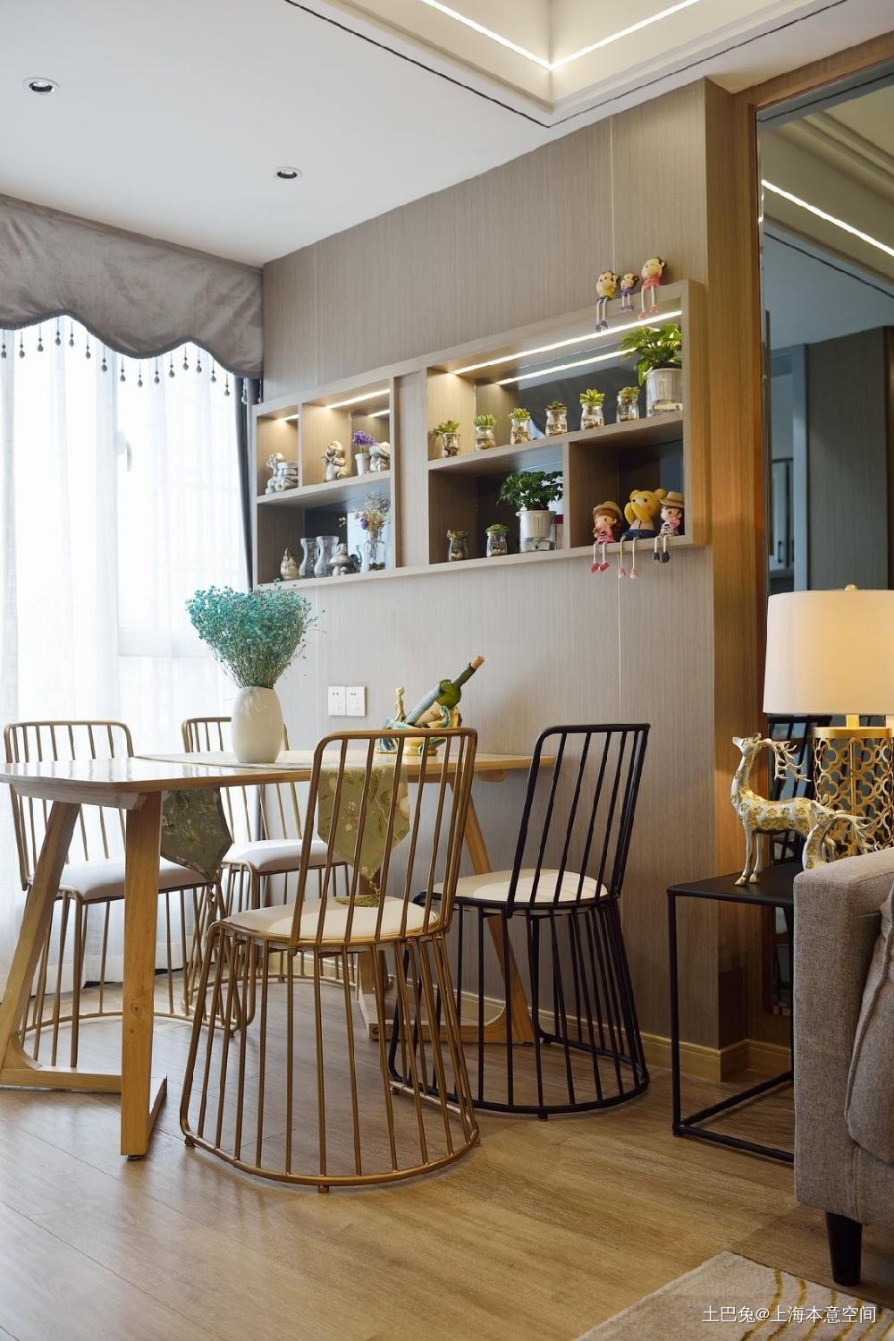胡女士90平简约时尚大气新居厨房现代简约餐厅设计图片赏析
