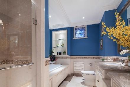 欧式风格三居室,静享慢时光卫生间