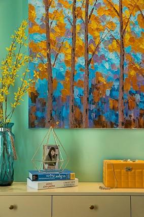 地中海风三居室,感受西西里岛的风情客厅地中海设计图片赏析