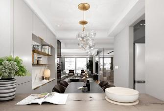 质感十足的简约空间,实用与美观完美结合。
