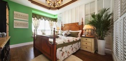 地中海风情打造独特造型卧室1图