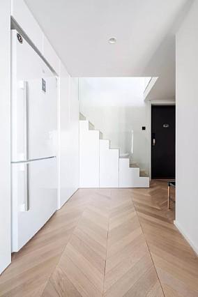 层高仅4.4m的40㎡loft公寓功能区2图潮流混搭设计图片赏析