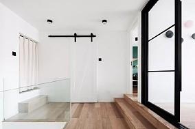 层高仅4.4m的40㎡loft公寓功能区1图潮流混搭设计图片赏析