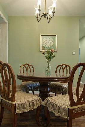 清新典雅复古美式三居厨房美式经典设计图片赏析