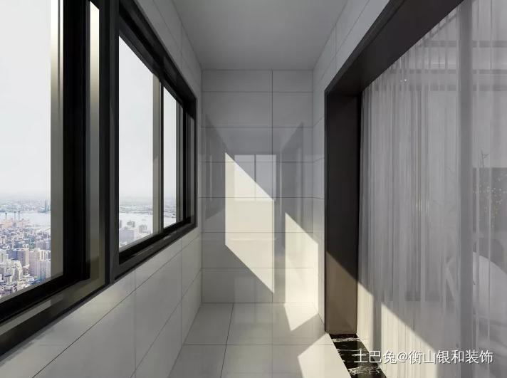 结合现代素雅的新中式风格阳台其他阳台设计图片赏析