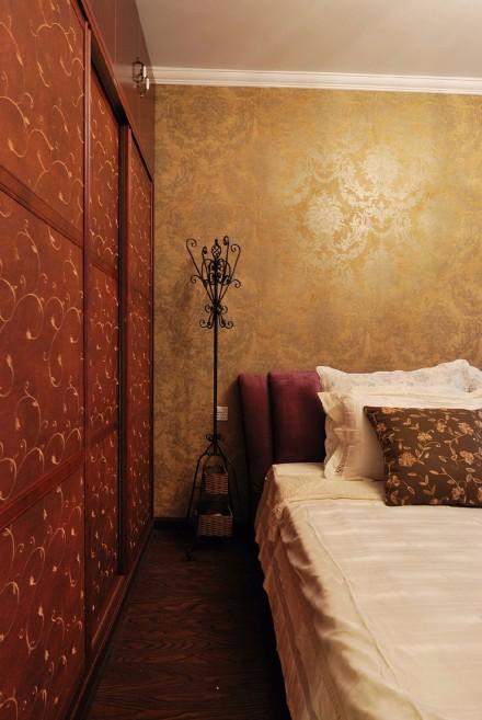 温馨暖系地中海风情三居卧室