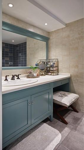 大气舒朗美式风,让家更加温馨吧卫生间美式经典设计图片赏析