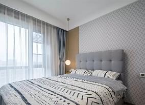 瑞典的暖阳·118㎡地中海风格卧室3图地中海设计图片赏析