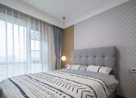 瑞典的暖阳·118㎡地中海风格卧室3图