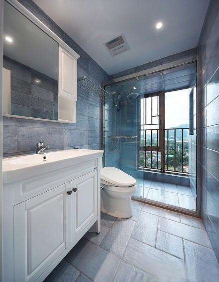 简欧风格两居室,生活就像一首诗卫生间