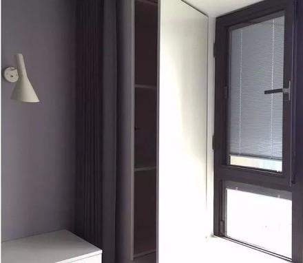 简洁而又不简单的极简风格卧室