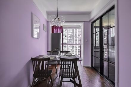 90㎡北欧风格,缤纷清爽的家厨房