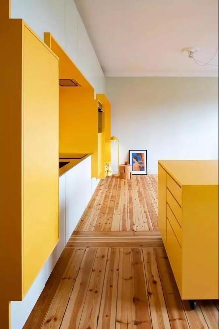 80㎡现代小公寓,这样装修好黄客厅