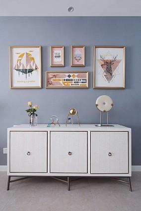 114平米·美式风情~温馨之家功能区1图美式经典设计图片赏析