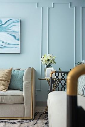 蓝色之恋合景峰汇欧式风功能区欧式豪华设计图片赏析