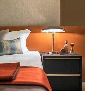 95m2现代风,一派恬静安然之意卧室现代简约设计图片赏析