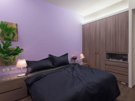 三汇英郡105㎡现代简约风格卧室