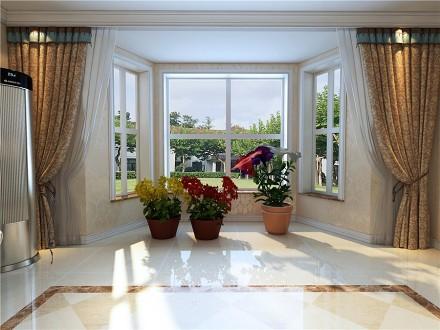 柔和的色调,满满的温馨舒适阳台