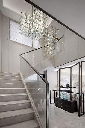 145²书香庭院黑白水墨画意境功能区中式现代设计图片赏析