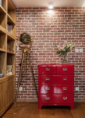 80平现代轻工业风二居,来自水泥系的清爽客厅现代简约设计图片赏析