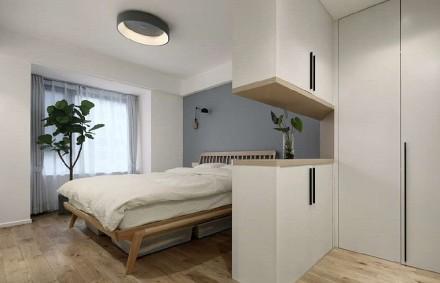 102平米的日式风格三室两厅卧室